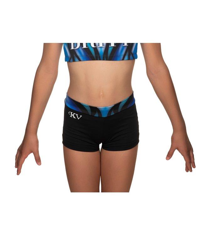 "KV Gymnastics Wear Turnbroekje ""Victory"" blauw"