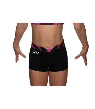 "KV Gymnastics Wear Shorts ""Victory"" pink"