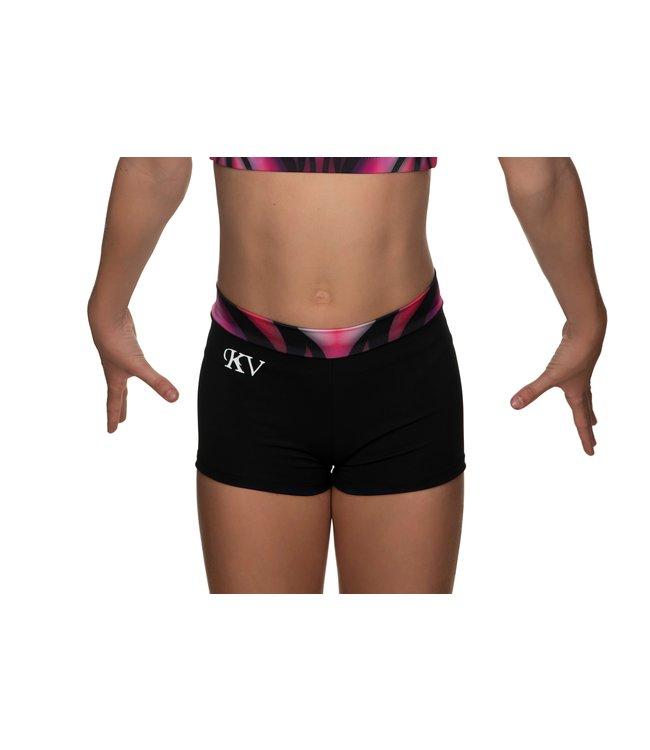 """KV Gymnastics Wear Turnbroekje """"Victory"""" roze"""