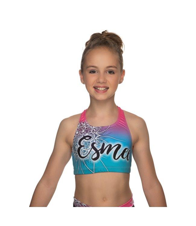 "KV Gymnastics Wear Sporttop ""Coco"" unicorn"