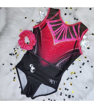 "KV Gymnastics Wear Limited Edition turnpakje ""Strawberry Pink"""