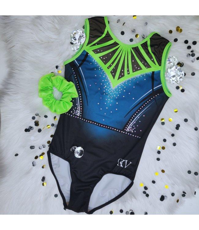 """KV Gymnastics Wear Limited Edition leotard """"Dazzling Mermaid"""""""
