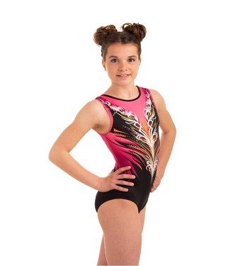 "KV Gymnastics Wear Turnpakje ""Divine"" Pink"