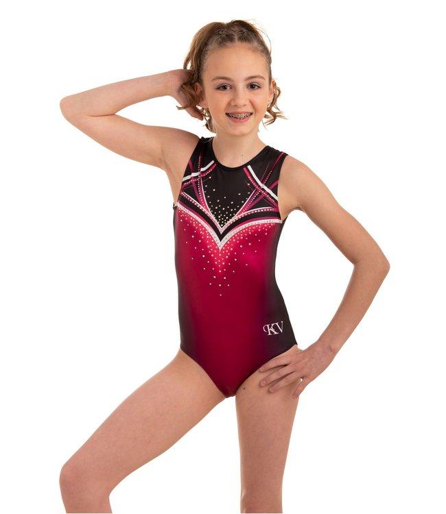 "KV Gymnastics Wear Leotard ""Celeste"" Orchid"