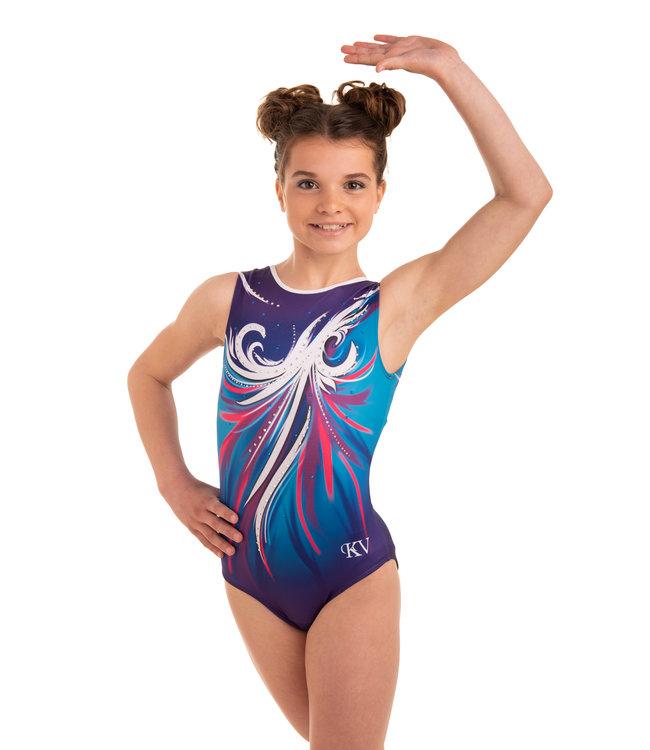 "KV Gymnastics Wear Leotard  ""Aphrodite"" Nyx"
