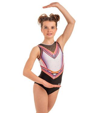 "KV Gymnastics Wear Turnpakje ""Summer Vibes"" pink"