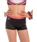 "KV Gymnastics Wear Shorts ""Summer Vibes"" pink"