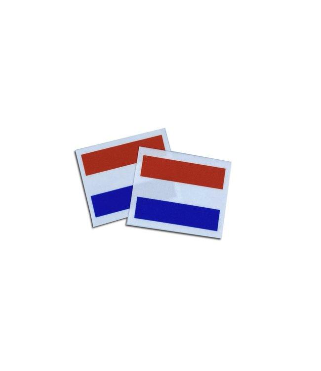 KV Gymnastics Wear Nederlandse vlag stretch (7cm x 5,5cm)