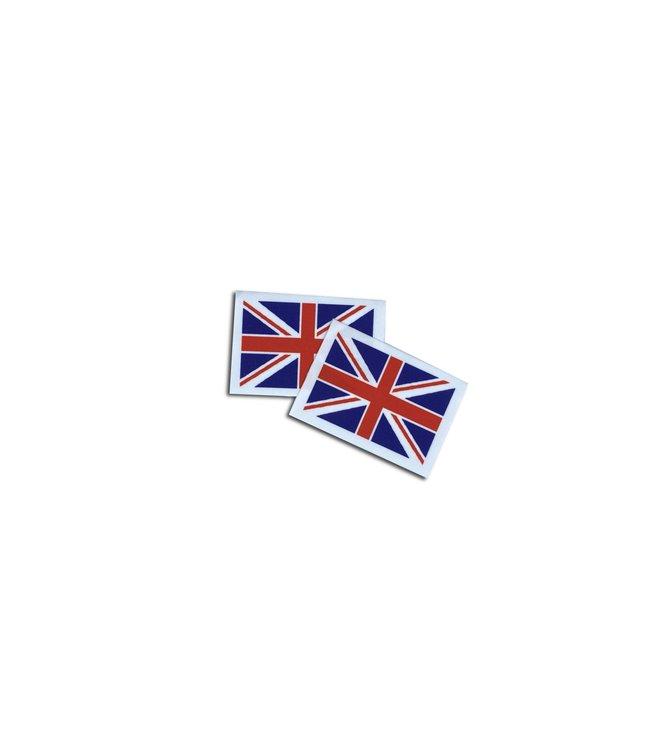 KV Gymnastics Wear Groot-Brittannië vlag stretch (7cm x 5,5cm)