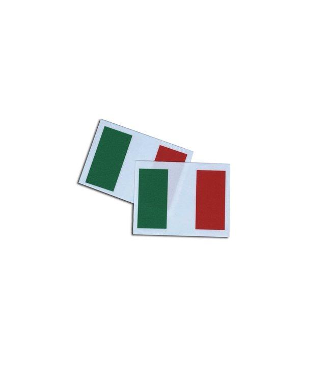 KV Gymnastics Wear Italiaanse vlag stretch (7cm x 5,5cm)