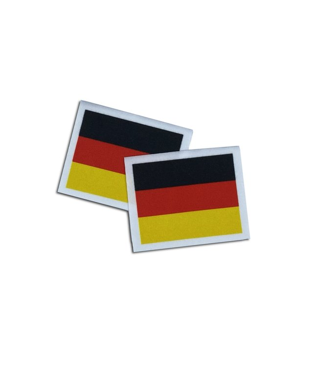 KV Gymnastics Wear Duitse vlag stretch (6,5cm x 5,5cm)