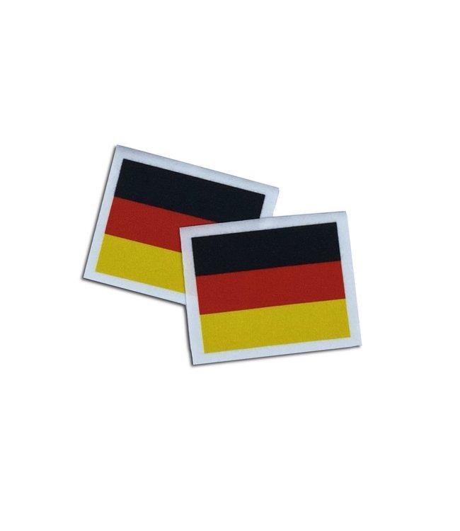 KV Gymnastics Wear German flag stretch (6,5cm x 5,5cm)