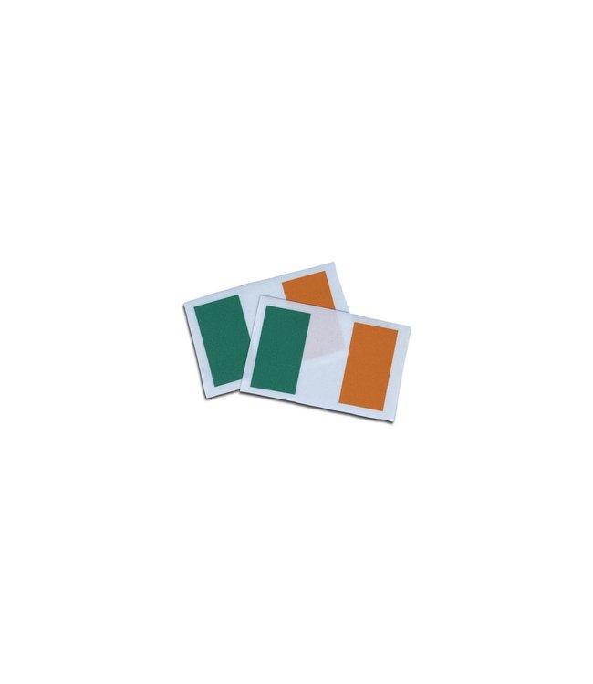 KV Gymnastics Wear Ierse vlag stretch (7cm x 5,5cm)