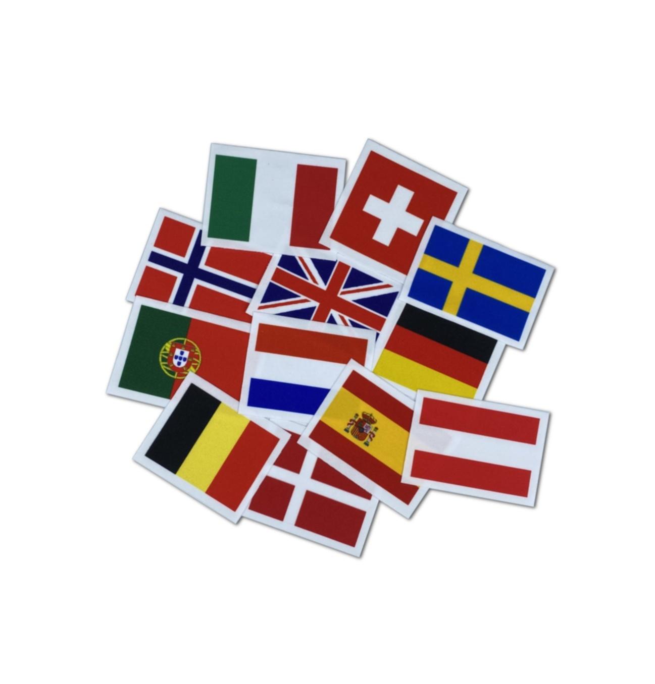 Nieuwe FIG regels voor Acro vlaggetjes
