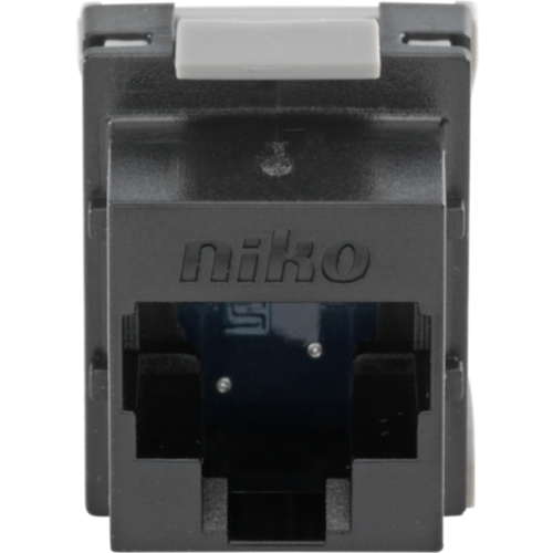 Niko data connector RJ45 cat.5E tot 100 mhz. (650-45051)