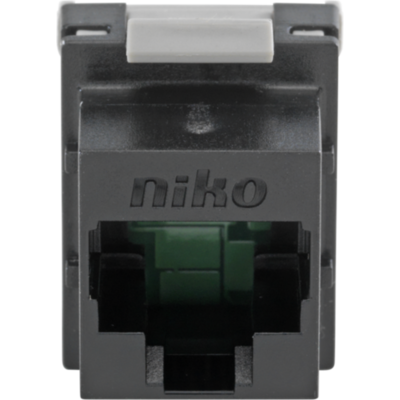 Niko data connector RJ45 cat.6 tot 250 mhz. (650-45061)