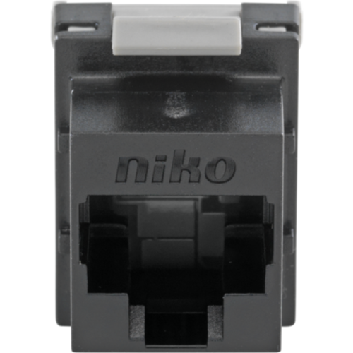 Niko data connector RJ45 cat.6A tot 500 mhz. (650-45071)