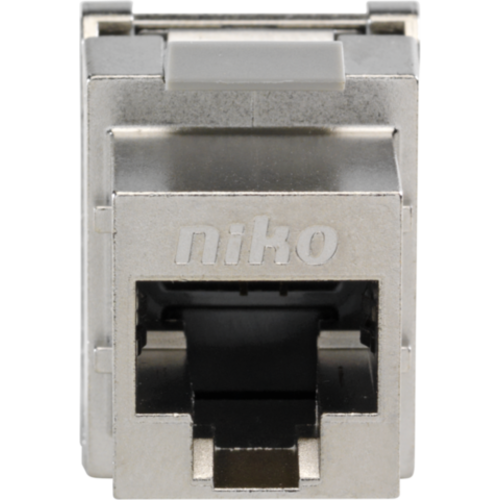 Niko data connector RJ45 cat.6A tot 500 mhz. afgeschermd (650-45077)