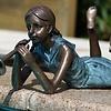 Hoe wordt een bronzen beeld gemaakt?