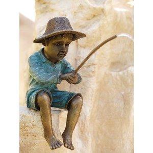 Eliassen Spuitfiguur brons vissertje