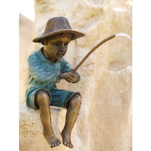 Eliassen Spray figure bronze fisherman