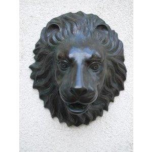Eliassen Spuitfiguur brons leeuwenkop