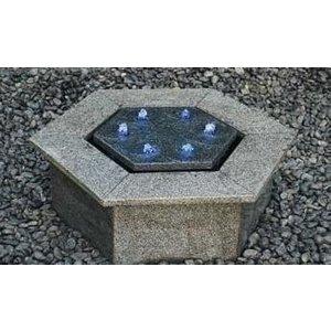 Eliassen Fountain Terrace Hexagon Granit
