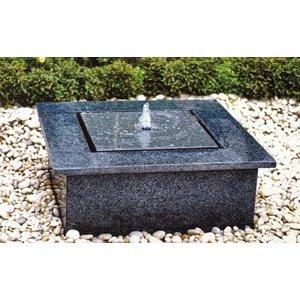 Eliassen Terrassenbrunnen Reims 80x80cm Granit