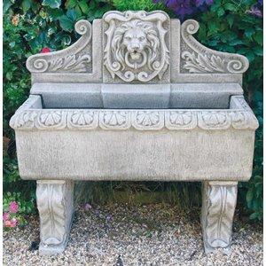 Dragonstone Wandbrunnen Löwenwand