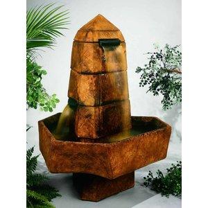 Henri Studio Henri Studio abstrakte Obelisk Brunnen