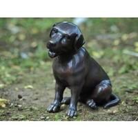 Beeld brons kleine labrador