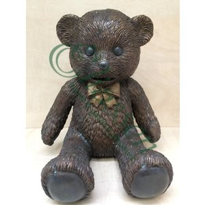 Eliassen Image bronze teddy bear