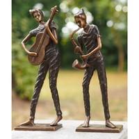 Image Bronze moderne Musiker