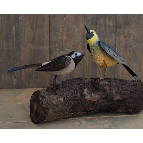Eliassen Metal figure pair of birds 23cm