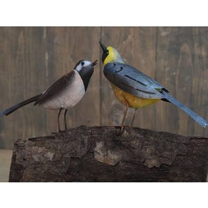 Eliassen Metal figure pair of birds 30x15cm