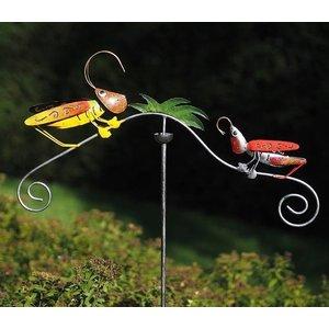 Eliassen Gartensteckerwaage mit Grillen