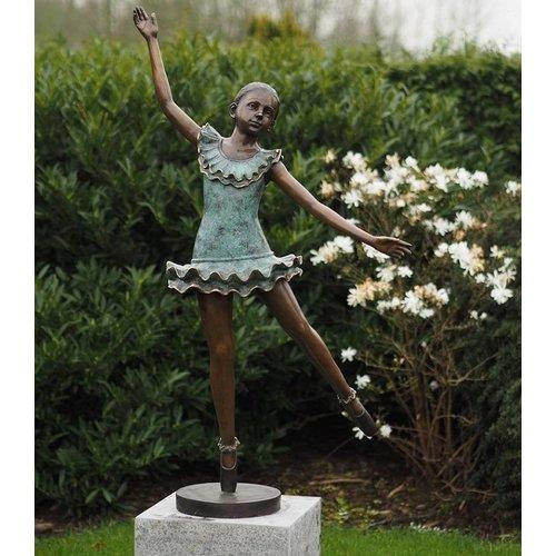 Eliassen Beeld brons Ballerina groot