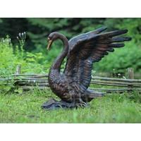 Beeld brons zwaan