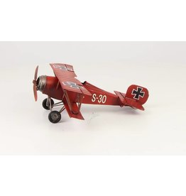 Miniature model look Red Baron small