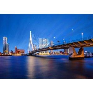 Eliassen Glas schilderij 98x148x0,4cm Rotterdam