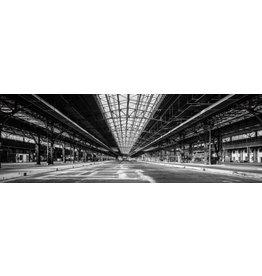 Glasschilderij 120x40cm Industrie
