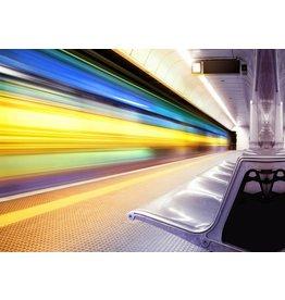 Eliassen Glass painting 50x70x0.4cm Express train
