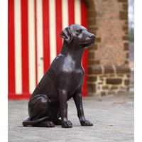 Beeld brons hond