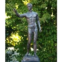 Beeld brons naakte man