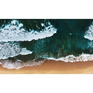 Wandkraft Painting dibond Strand 118x70cm