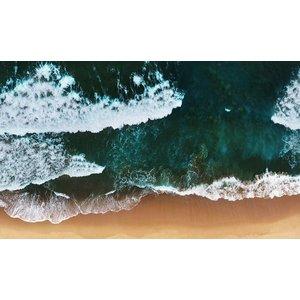 Wandkraft Schilderij dibond   Strand  118x70cm