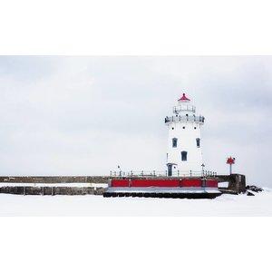 Wandkraft Painting dibond Lighthouse 118x70cm