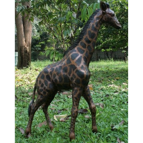 Eliassen Beeld brons grote giraf
