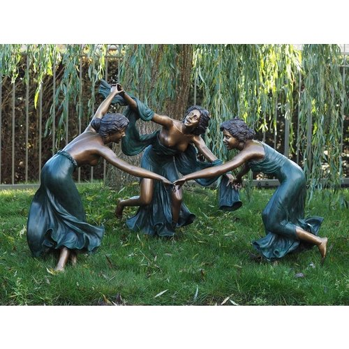 Eliassen Bild Bronze 3 tanzende Frauen