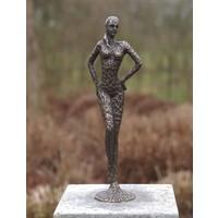 Beeld brons vrouw modern
